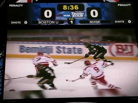 Boston University Hockey Highlights - Road to DC