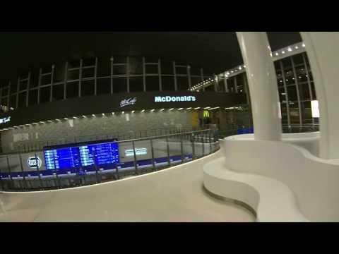 Dworzec Centralny w środku nocy