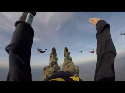 Sunset Tracking Dive April 4th 2015 at Skydive Dallas