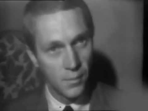 Steve McQueen Interview in Paris   1964