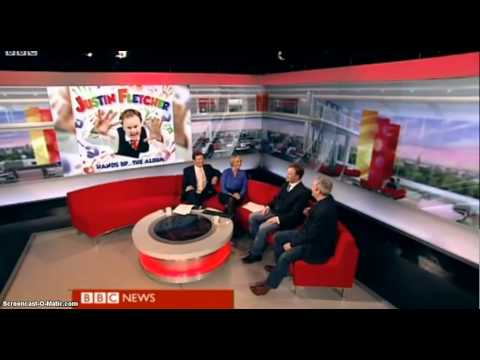 Neil McCormick VS Mr Tumble: BBC Breakfast (9 March 2012)