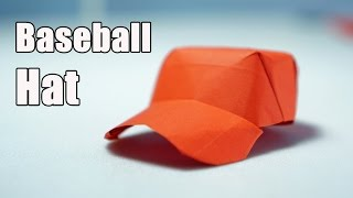Best Origami Baseball Cap tutorial - DIY (Henry Phạm)