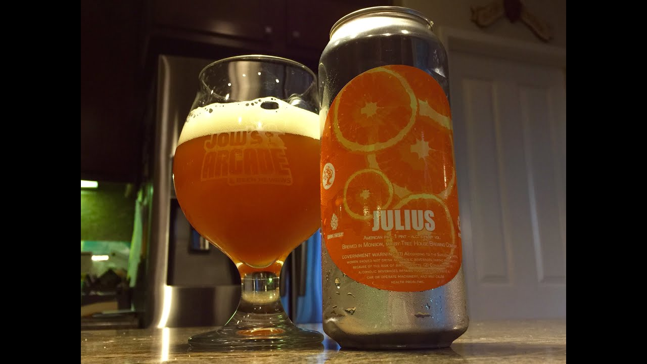 Attractive Treehouse Brewing Part - 8: Beer Review - #105 - Tree House Brewing Company- Julius - 6.8% ABV - YouTube