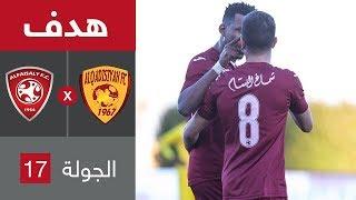 هدف الفيصلي الثاني ضد القادسية (محمد أبو سبعان) في الجولة 17 من الدوري السعودي للمحترفين
