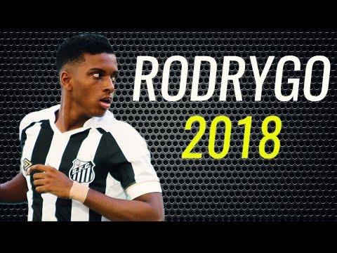 Rodrygo • 2018 • Santos • Magic Goals & Skills • HD