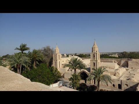 Египет.  Монастыри Нитрийской пустыни