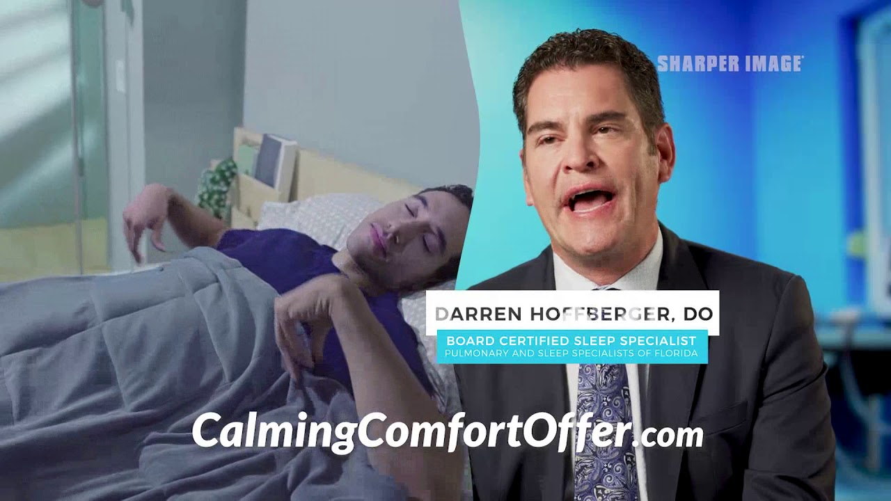 Calming Comfort Weighted Blanket Official Commercial Youtube