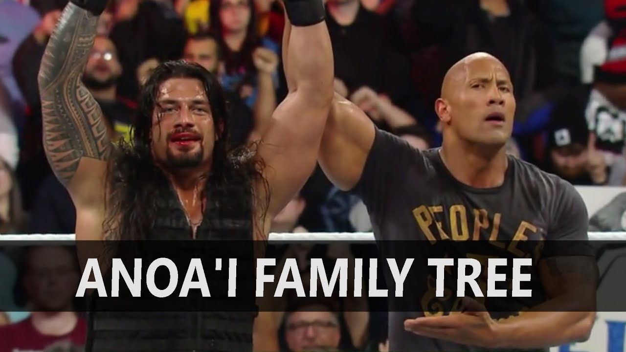 WWE Anoa'i Family Tree | 6 Things You Probably Didn't Know About The Anoa'i Family - YouTube