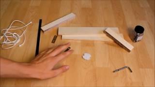 play how to make a mini crossbowmini armbrust selber bauen. Black Bedroom Furniture Sets. Home Design Ideas