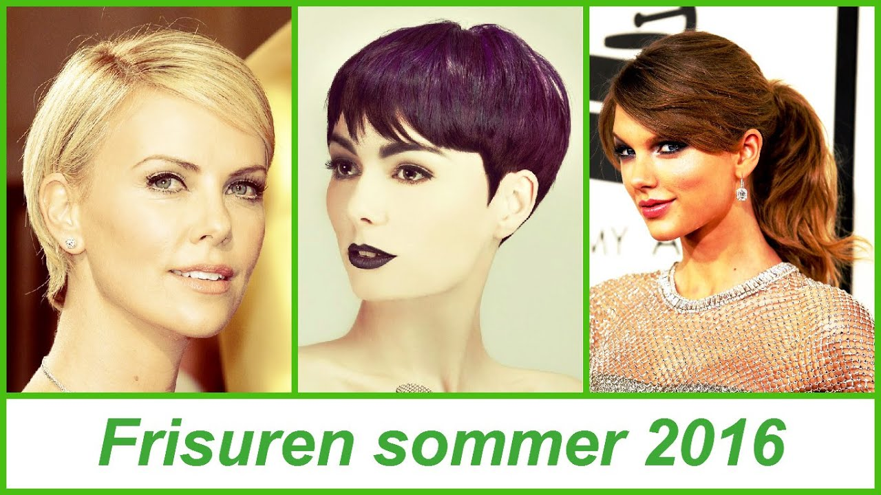 Frisuren Sommer 2016 Youtube