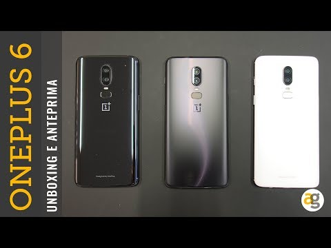 OnePlus 6 UNBOXING prime impressioni e PREZZI