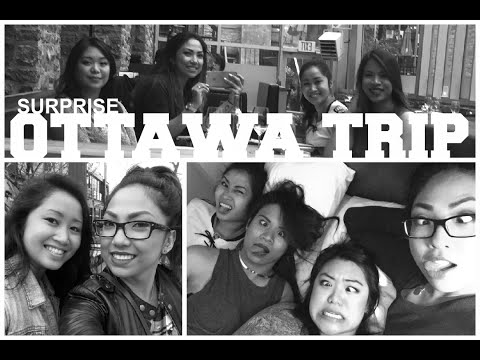 GIRLS WEEKEND | Ottawa Trip 2015