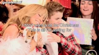All I Want For Christmas Is You - Justin Bieber ft. Mariah Carey (Lyrics)