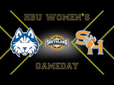 HBU Women's Basketball vs Sam Houston