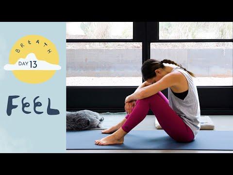 Day 13 - Feel | BREATH - A 30 Day Yoga Journey - Yoga With Adriene