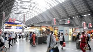 アキーラさん利用②ドイツ・フランクフルト中央駅,Frankfurt-station,Gernany