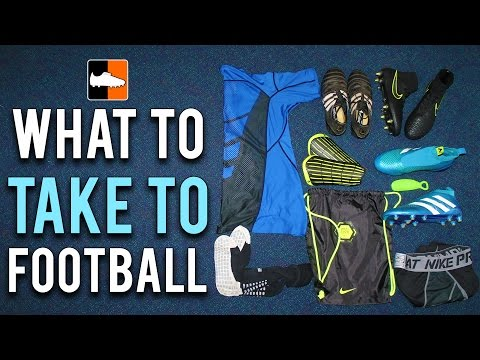 What To Take To Football - Episode 1 Ian's Soccer Bag