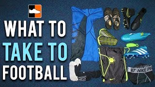 what to take to football episode 1 ian s soccer bag