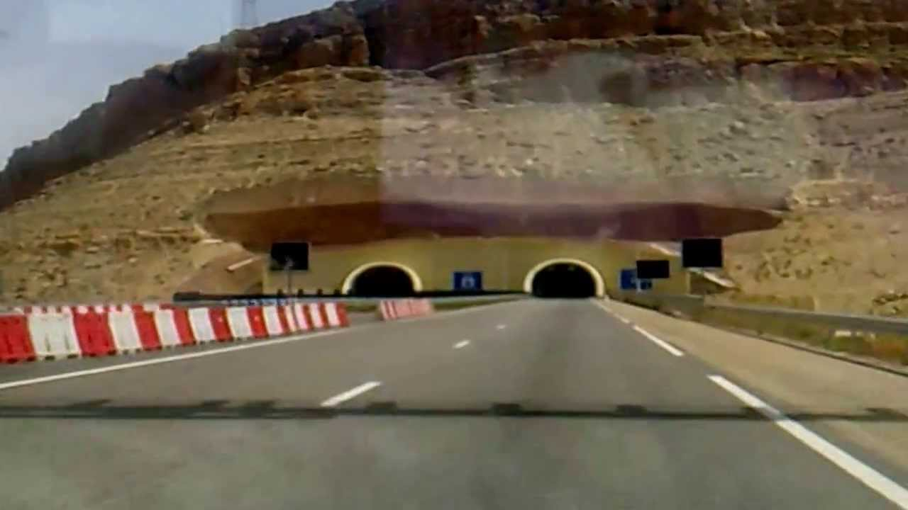 tunnel autoroute marrakech agadir au maroc youtube. Black Bedroom Furniture Sets. Home Design Ideas