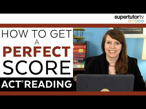How To Get A PERFECT Score On The ACT Reading Section!!