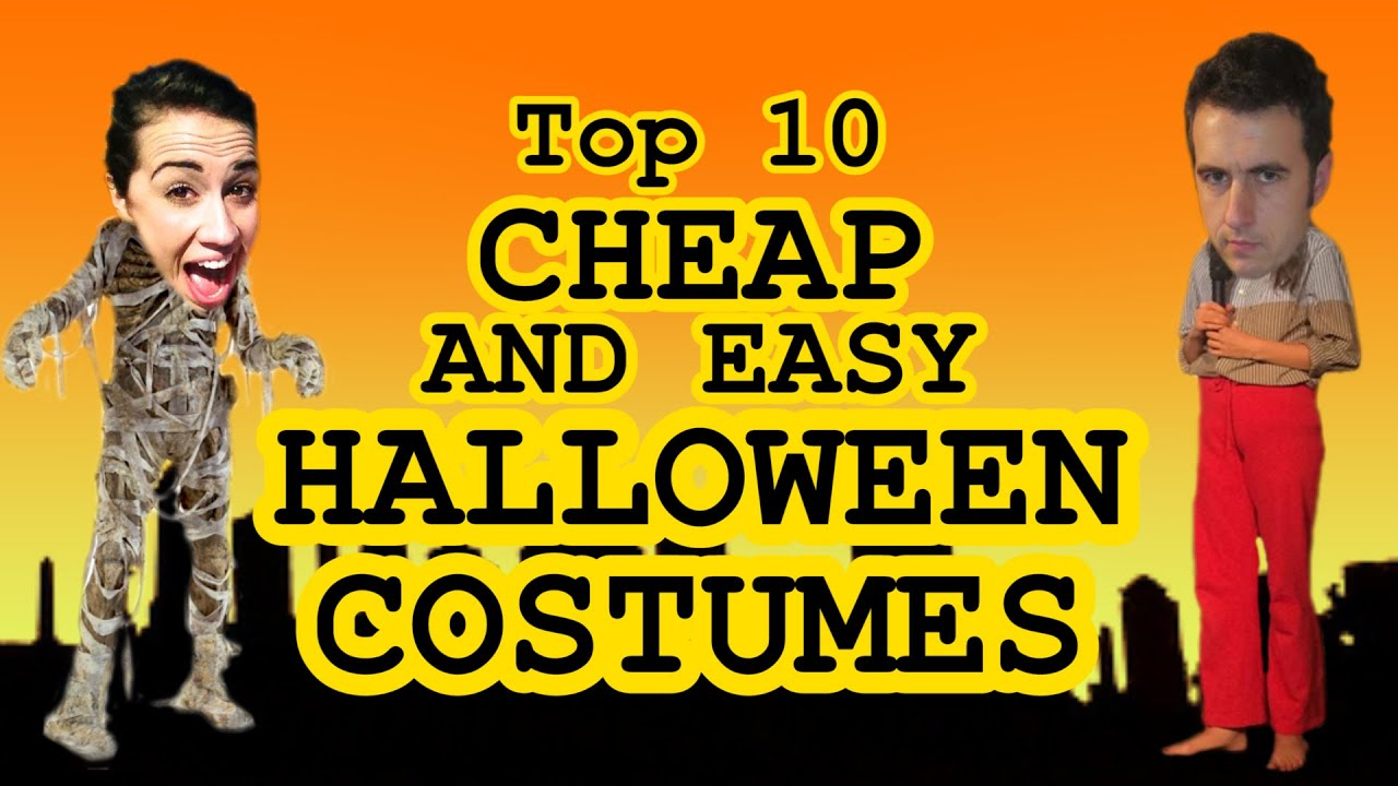 Top 10 Cheap Halloween Costumes w/Colleen Ballinger - YouTube
