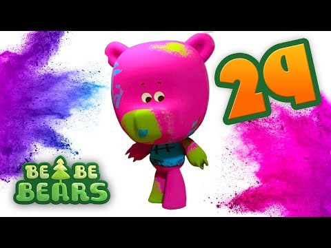 Bjorn and Bucky - Be Be Bears - Episode 29 - Kids cartoon - Moolt Kids Toons Happy bear