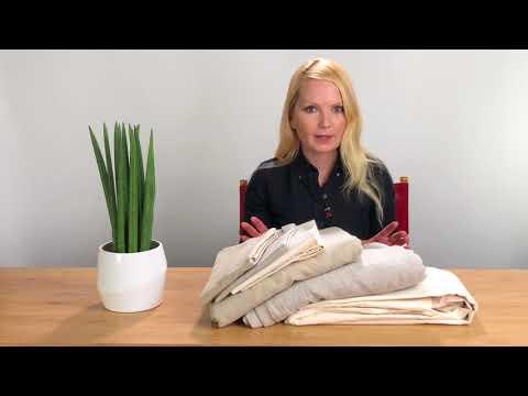 How To Pick Organic Cotton, Linen, Hemp Sheets