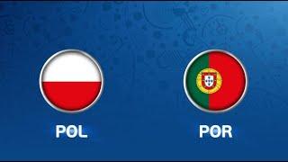 Pologne-Portugal (3-2 pour le Portugal)