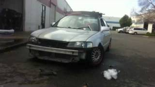 Dr. Phones 99 civic lx in the making