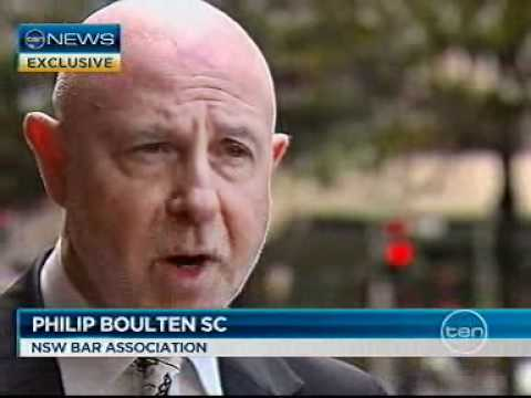 TV Appearance: Channel 10 NEWS - 12 Aug 2011 NSW Crime Commission