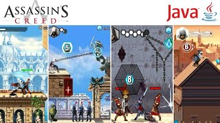 Evolution Assassin's Creed Games on Java Mobile
