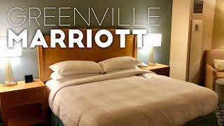 Greenville, South Carolina Marriott Hotel Room