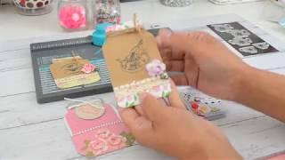 6x6 Paper | Mason Jar | WRMK | Envelope Punchboard | TUTORIAL | Project