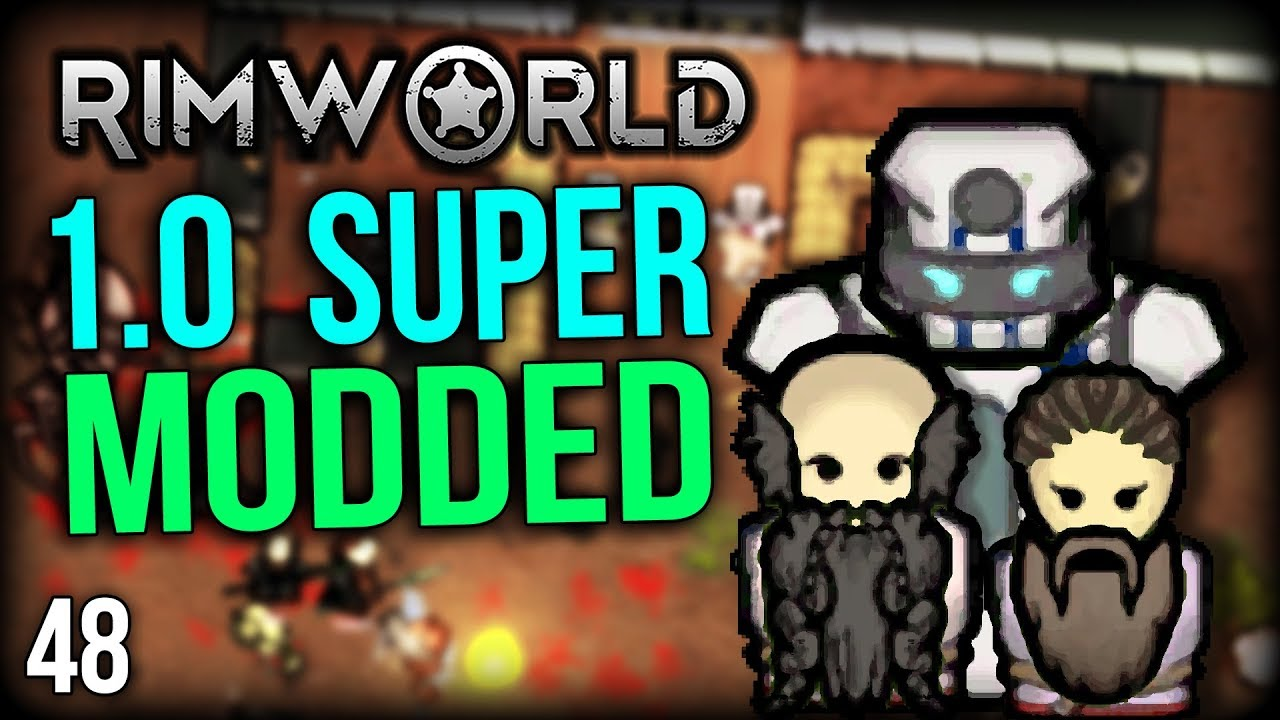 RimWorld 1 0 Modded | Skillbooks Are Awesome! | RimWorld Mods Gameplay part  48