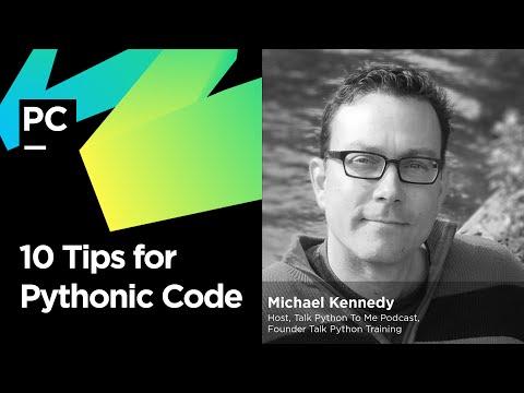10 Tips for Pythonic Code