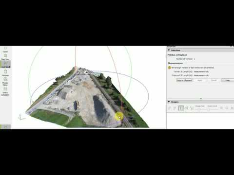 Easy length measurement by mapping | India Drone | land Surveying