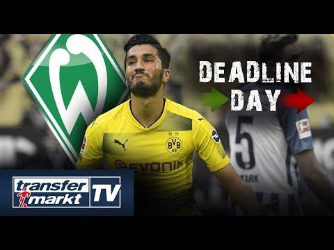 Deadline Day 4: Bremen verpflichtet Sahin – Nelson wechselt zur TSG
