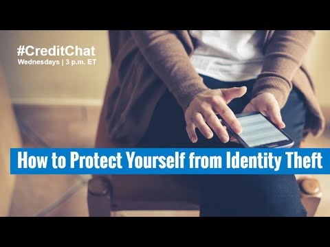 How to Protect Yourself from Identity Theft #CreditChat w/ Rod Griffin & Becky Frost