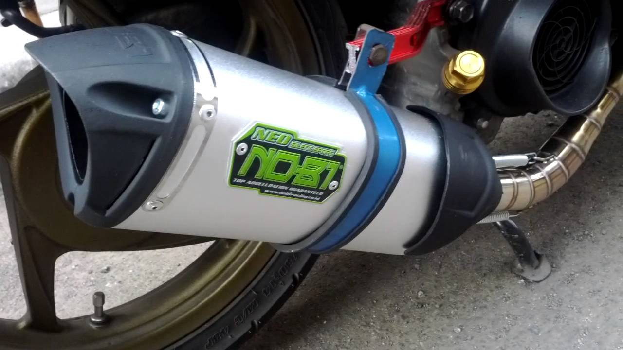 NOB1 Neo SS Dual Sound Exhaust + Tsukigi Pipe on Honda ...