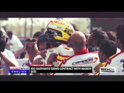 Rio Haryanto to Race in F1 With Manor Marussia