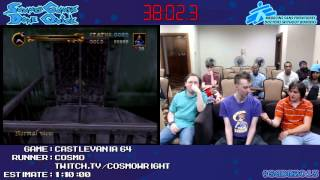 Castlevania 64 :: SPEED RUN 0:52:11 by Cosmo #SGDQ 2013