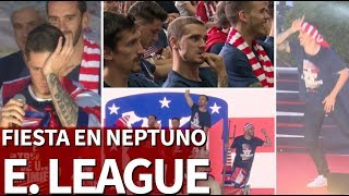 Lo mejor de la fiesta del Atlético por la Europa League en Neptuno | Diario AS