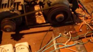 видео Генератор из асинхронного двигателя своими руками в домашних условиях
