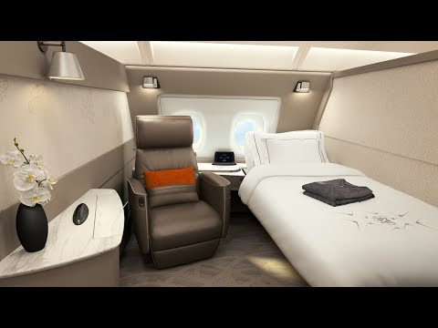 Singapore Airlines A380 First Class Suite London to Singapore (PHENOMENAL!) from YouTube · Duration:  28 minutes 34 seconds