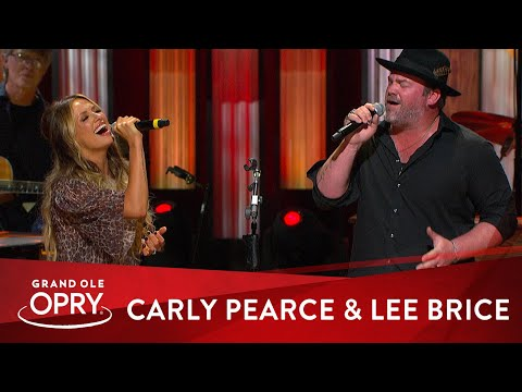 Carly Pearce Surprises Lee Brice at the Opry