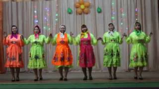 Ансамбль «Пÿрö сем». Марийский танец (Марла куштымаш)