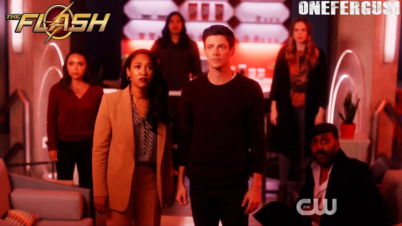 "Download The Flash 6x08 ""Crisis Begins"" Ending Scene Season 6 Episode 8 HD ""Barry Allen, Pt. 2"""