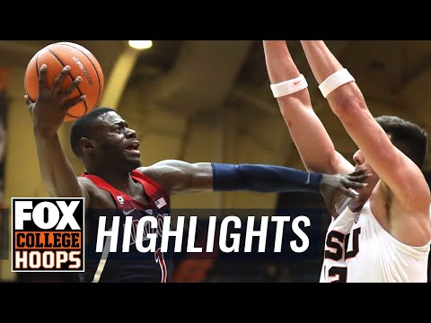Arizona vs Oregon State | Highlights | FOX COLLEGE HOOPS