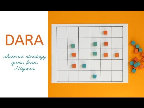 Dara: Abstract strategy game from Nigeria