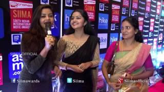 Anupama Talking About SIIMA | Red Carpet | SIIMA 2015 | Malayalam